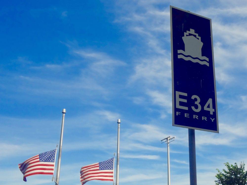 Ferry direction l'Etat du New Jersey