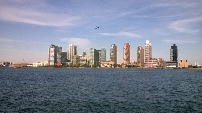 New York depuis le Ferry