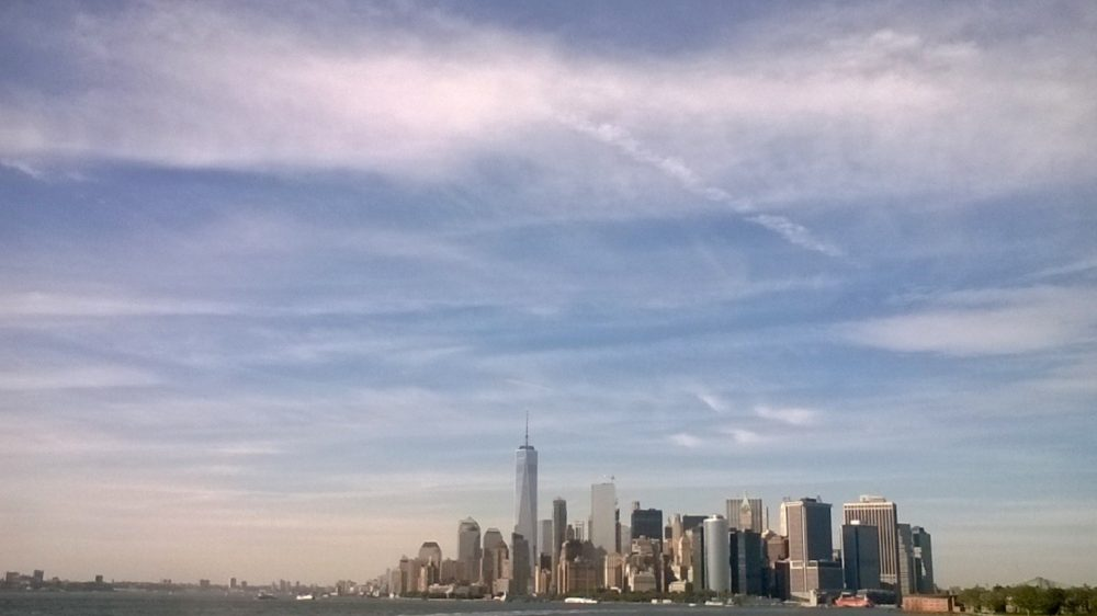 New York depuis le Ferry