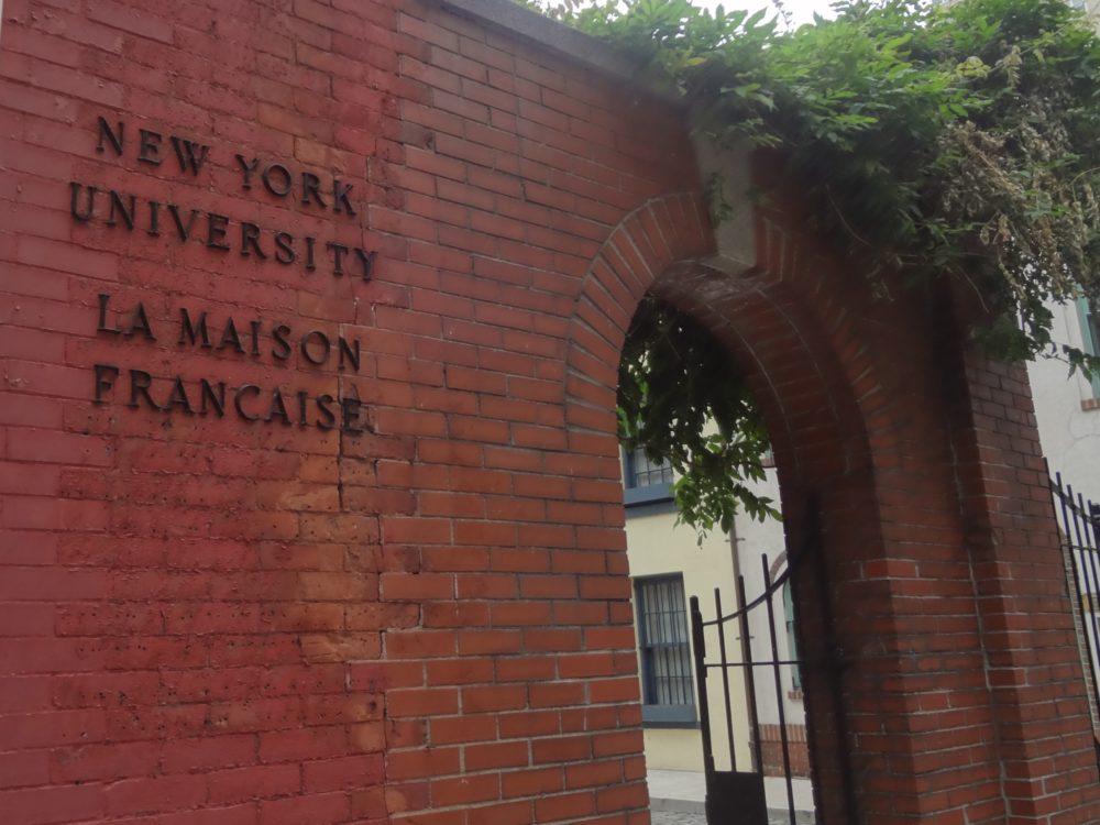 Maison française NYU