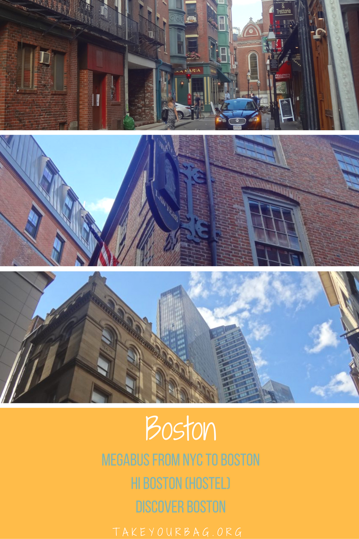 Megabus from NYC to Boston - Megabus review - HI Boston Hostel - Discover the city - #boston #travel #roadtrip #bustrip #megabus