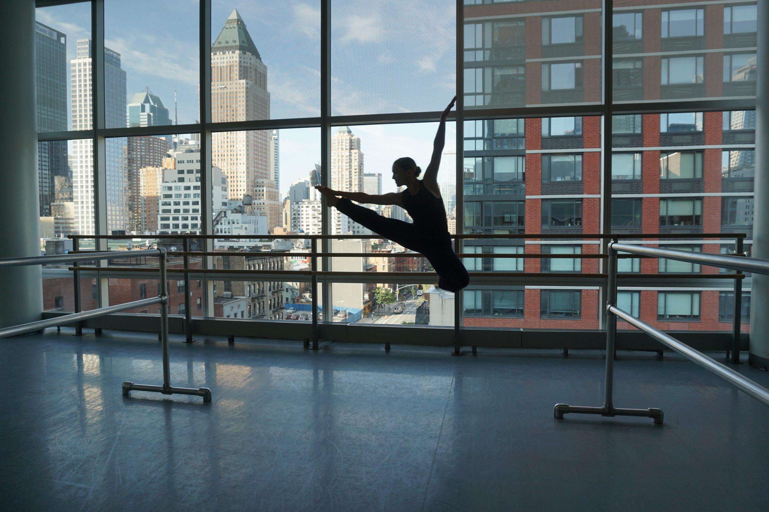Elise @ Alvin Ailey School NYC