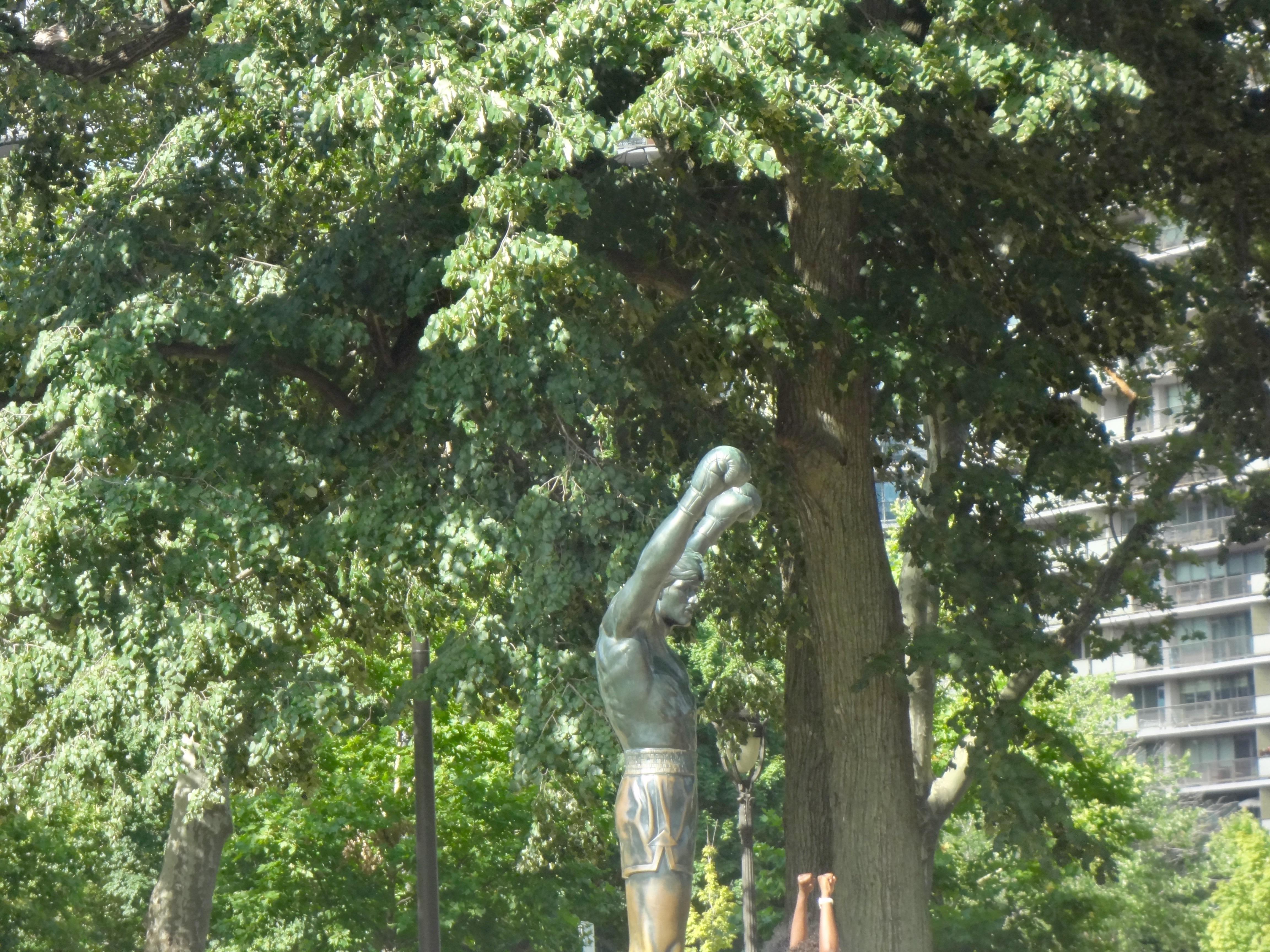 La statue de Rocky Statue @ Philadelphie