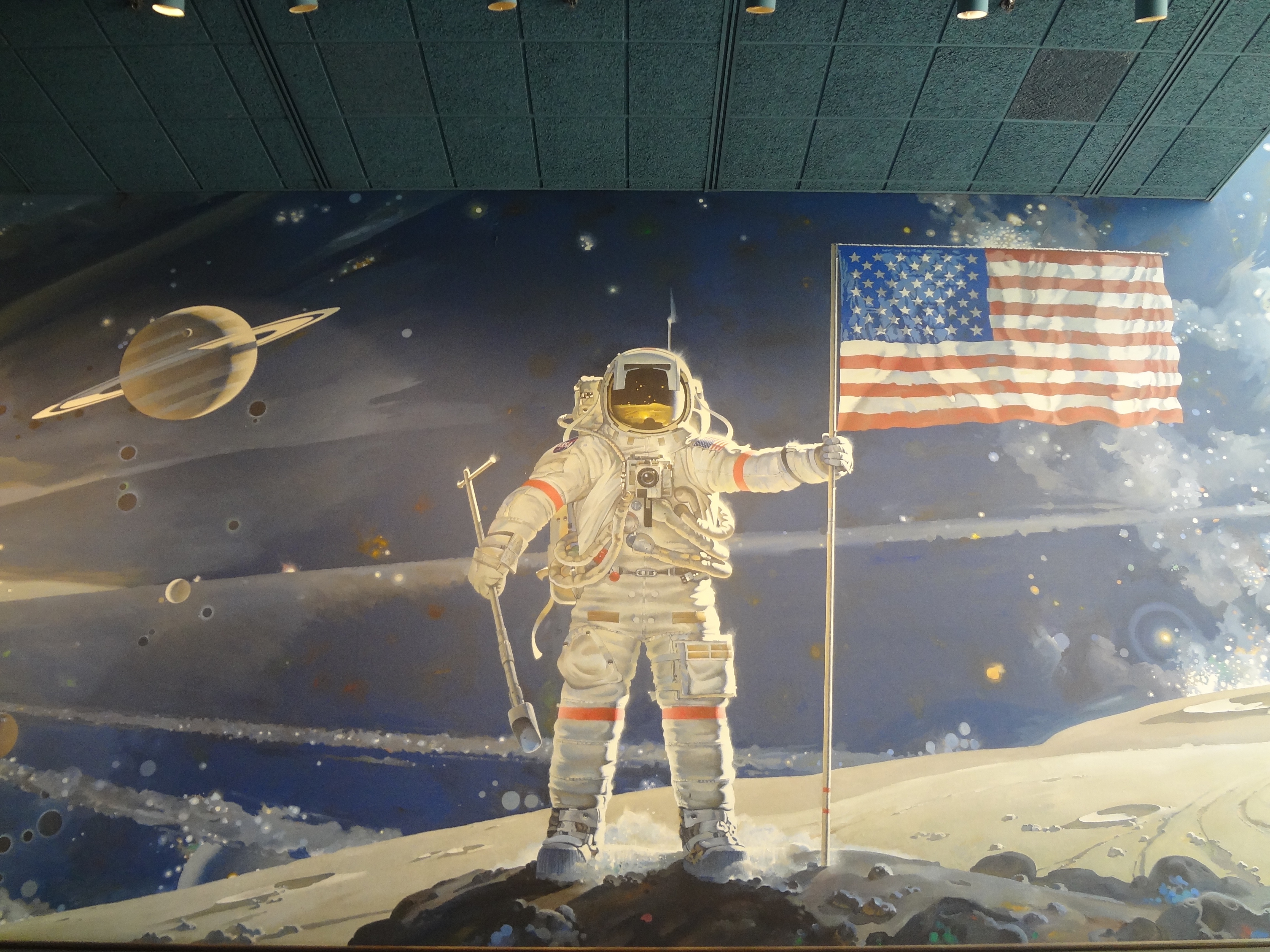 Air & Space Museum Wall Art