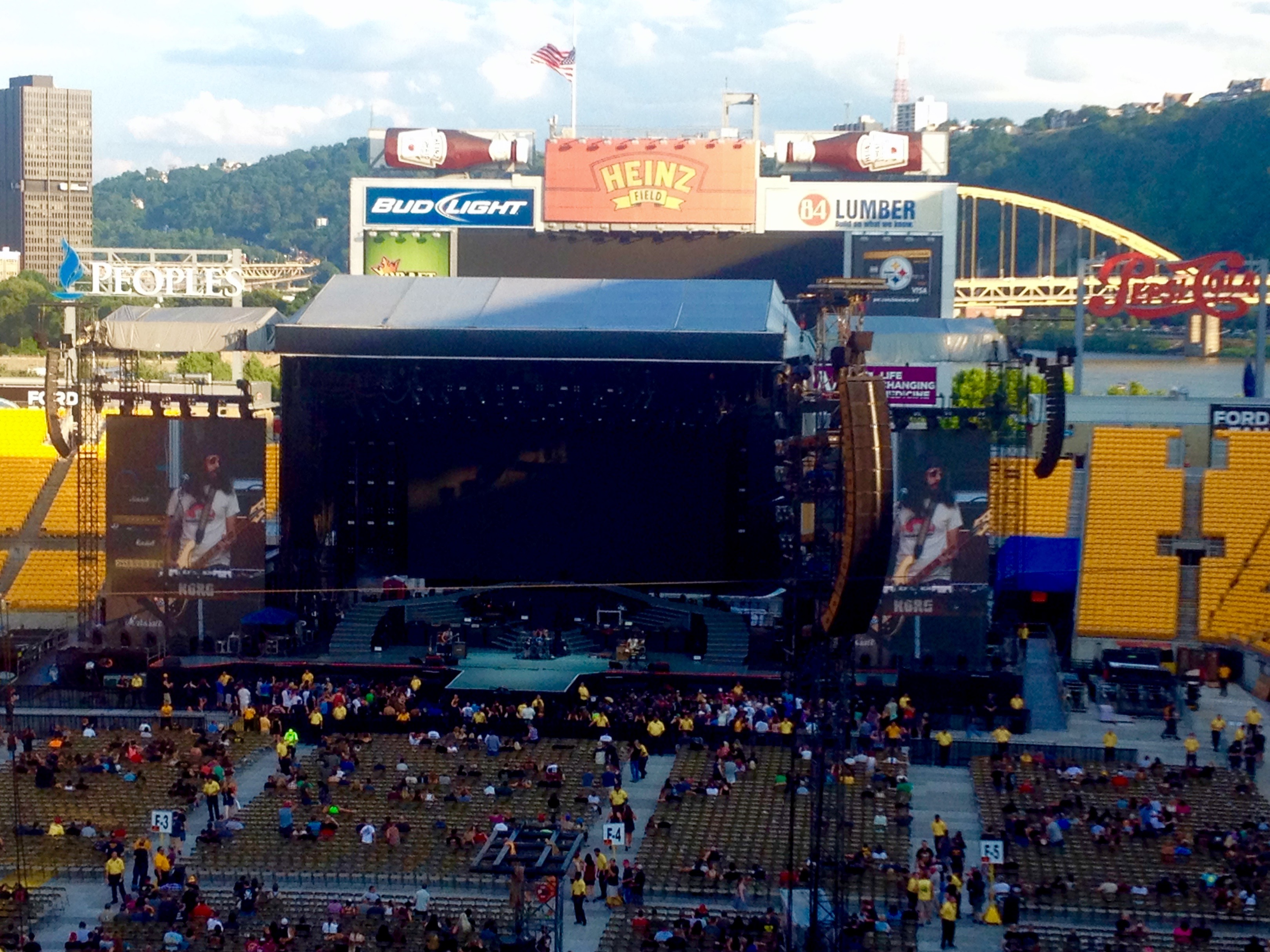Wolfmother @ Heinz Field à Pittsburgh