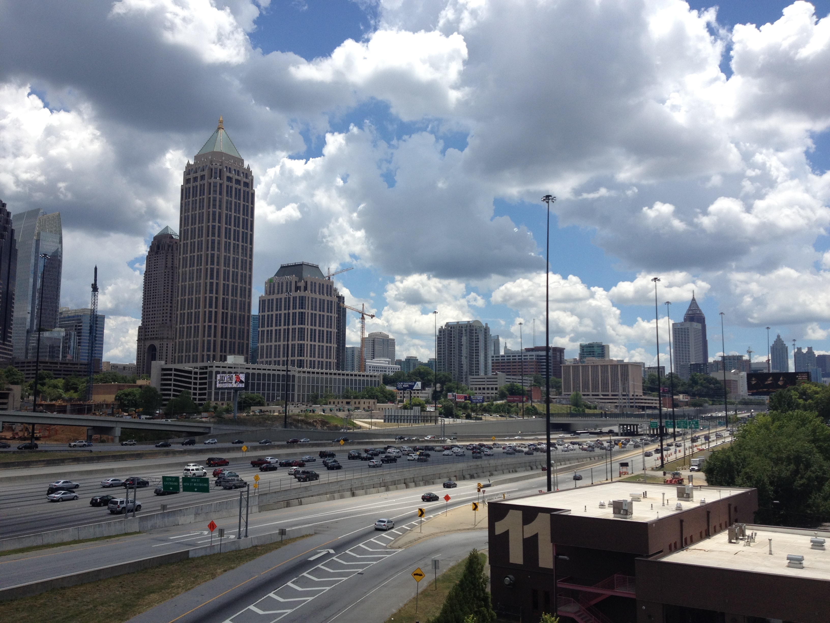 The dizzying rhythm of Atlanta