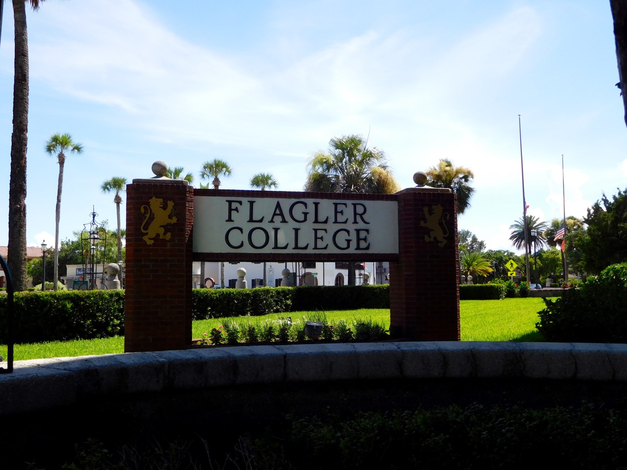 Flagler College Sign