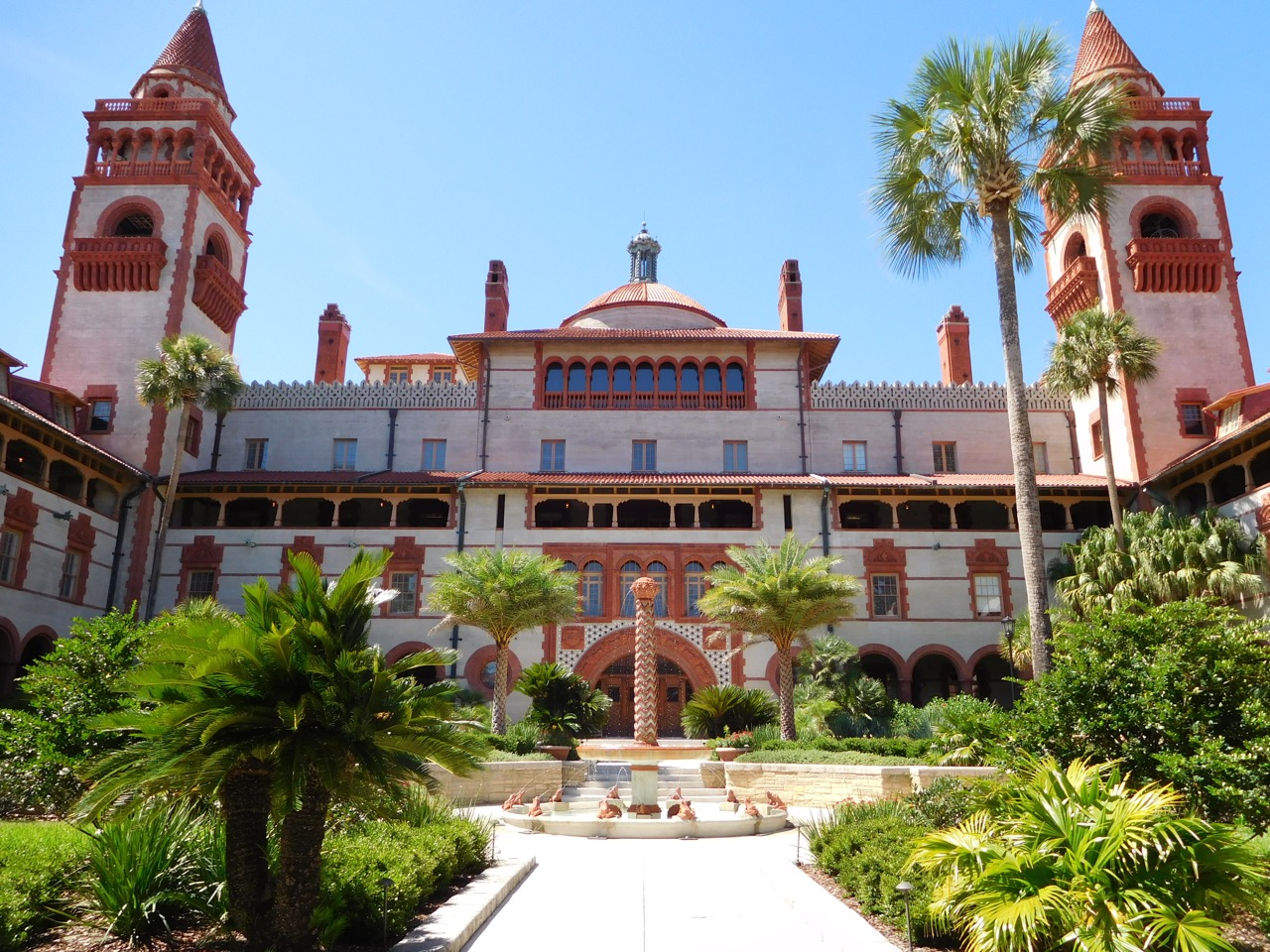 Front of Flagler College