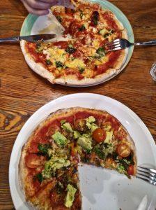 Vegan Pizza at Greens Pizza