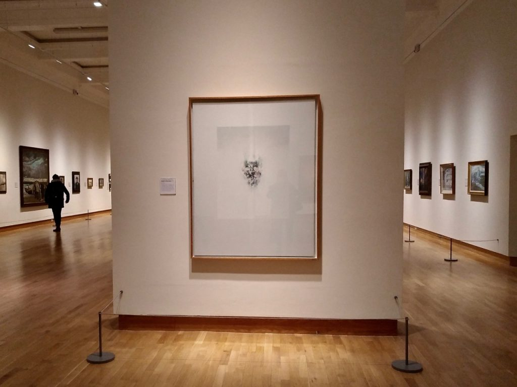 The art section at Ulster Museum