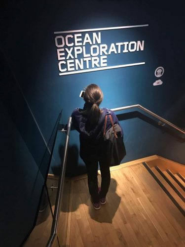 Titanic ocean exploration centre - A great activity for a weekend in Belfast