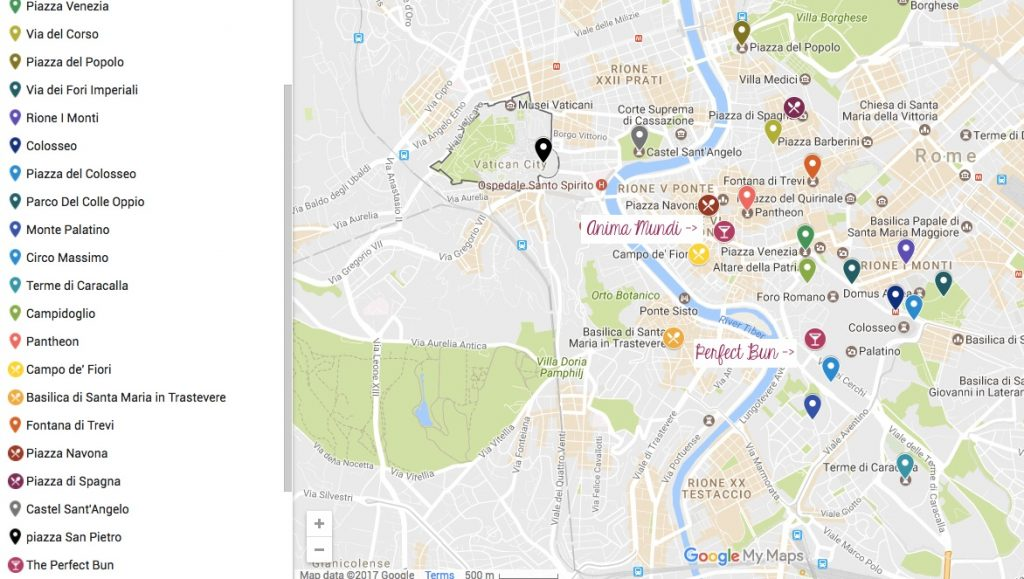 express roma itinerary
