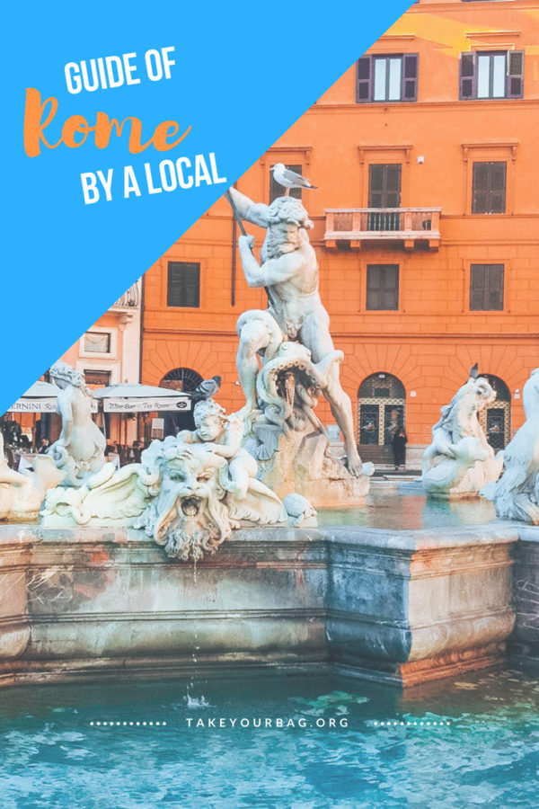 Spending a weekend in Rome can be amazing if you follow the directions of a local! Check out how to see the most beautiful places in Rome, including the Colosseum, piazza, fountains, and local neighbourhoods! #rome #italy #colosseo #colosseum