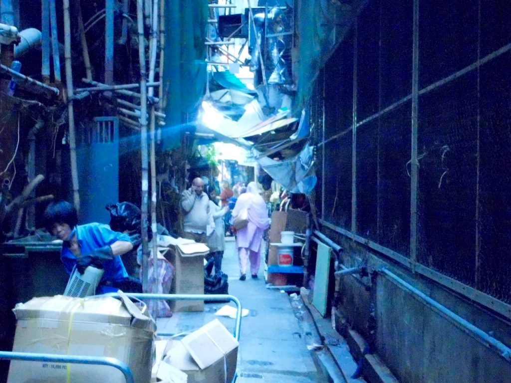 Back Alley - Chungking Mansions
