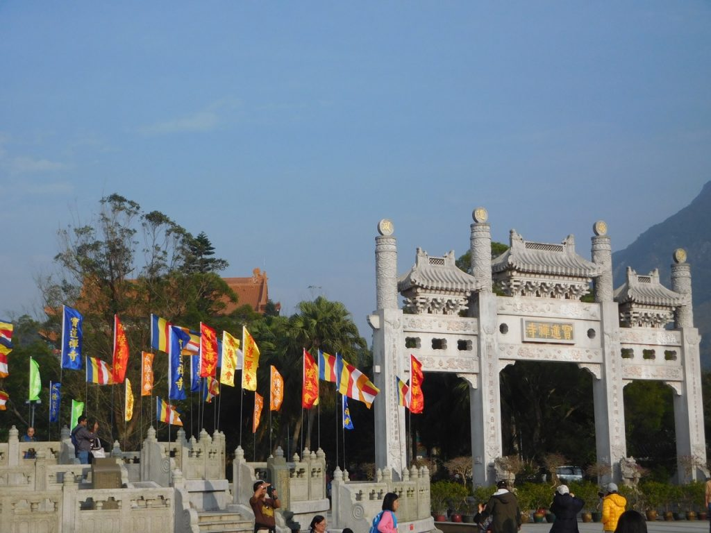Gates to Big Buddha