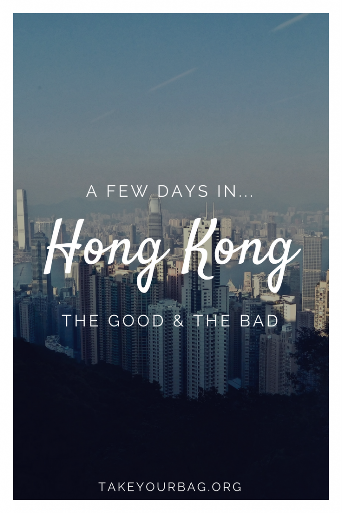 A few days in Hong Kong | What to do in Hong Kong | Where to eat in Hong Kong | Visit the Big Buddha in Hong Kong | Go to Victoria Peak in Hong Kong
