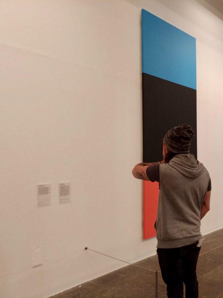 Simone à la Tate...
