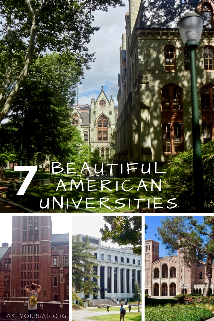 7 beautiful American universities | Gorgeous College Campuses | Harvard | Columbia | Georgetown | Upenn | UCLA | Berkeley | UCSC (4)