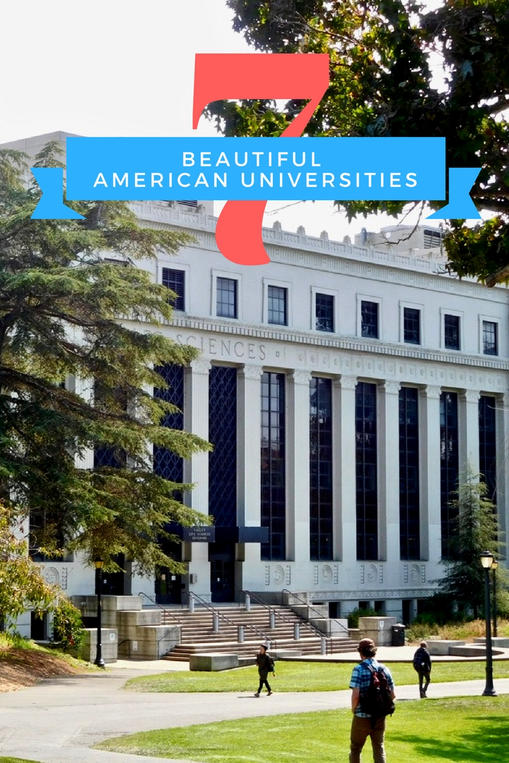 7 beautiful American universities | Gorgeous College Campuses | Harvard | Columbia | Georgetown | Upenn | UCLA | Berkeley | UCSC (3)