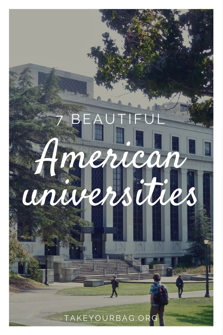 7 beautiful American universities | Gorgeous College Campuses | Harvard | Columbia | Georgetown | Upenn | UCLA | Berkeley | UCSC
