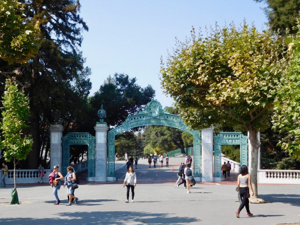 Berkeley university gate