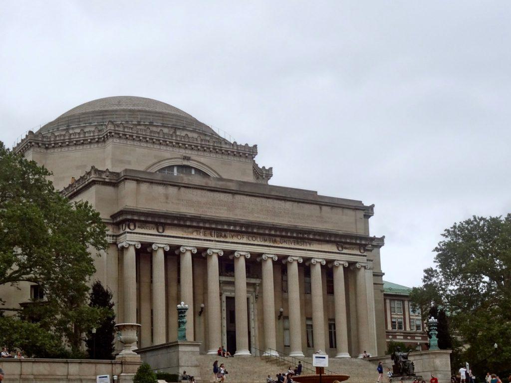 La bibliothèque de l'université de Columbia