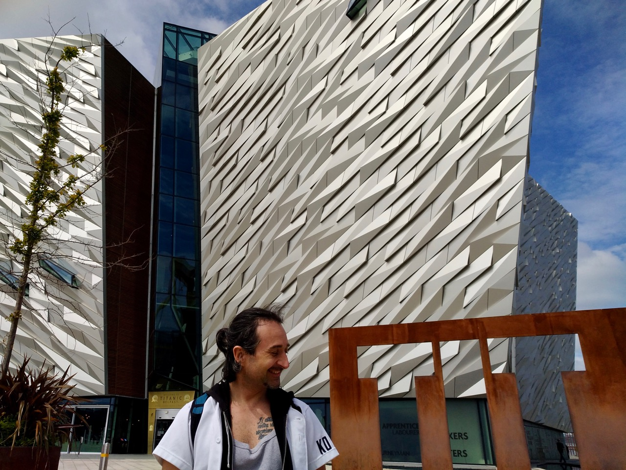 Visiting the Titanic Museum in Belfast (2)