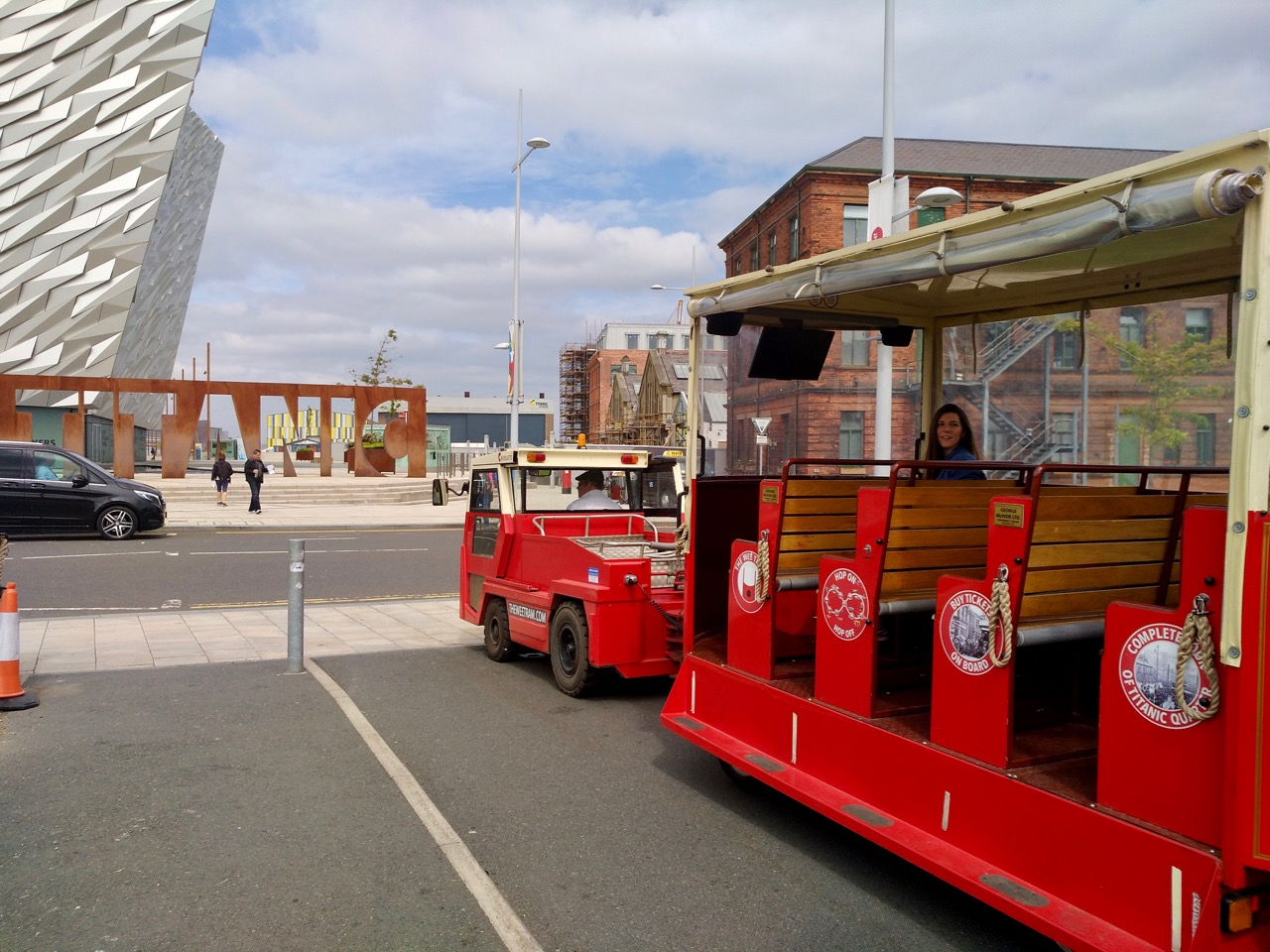 The Wee Tram Tour - Visiting the Titanic Museum in Belfast (2)