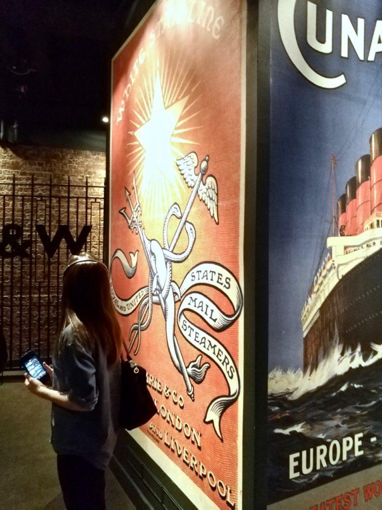 Visiting Titanic Museum in Belfast (8)
