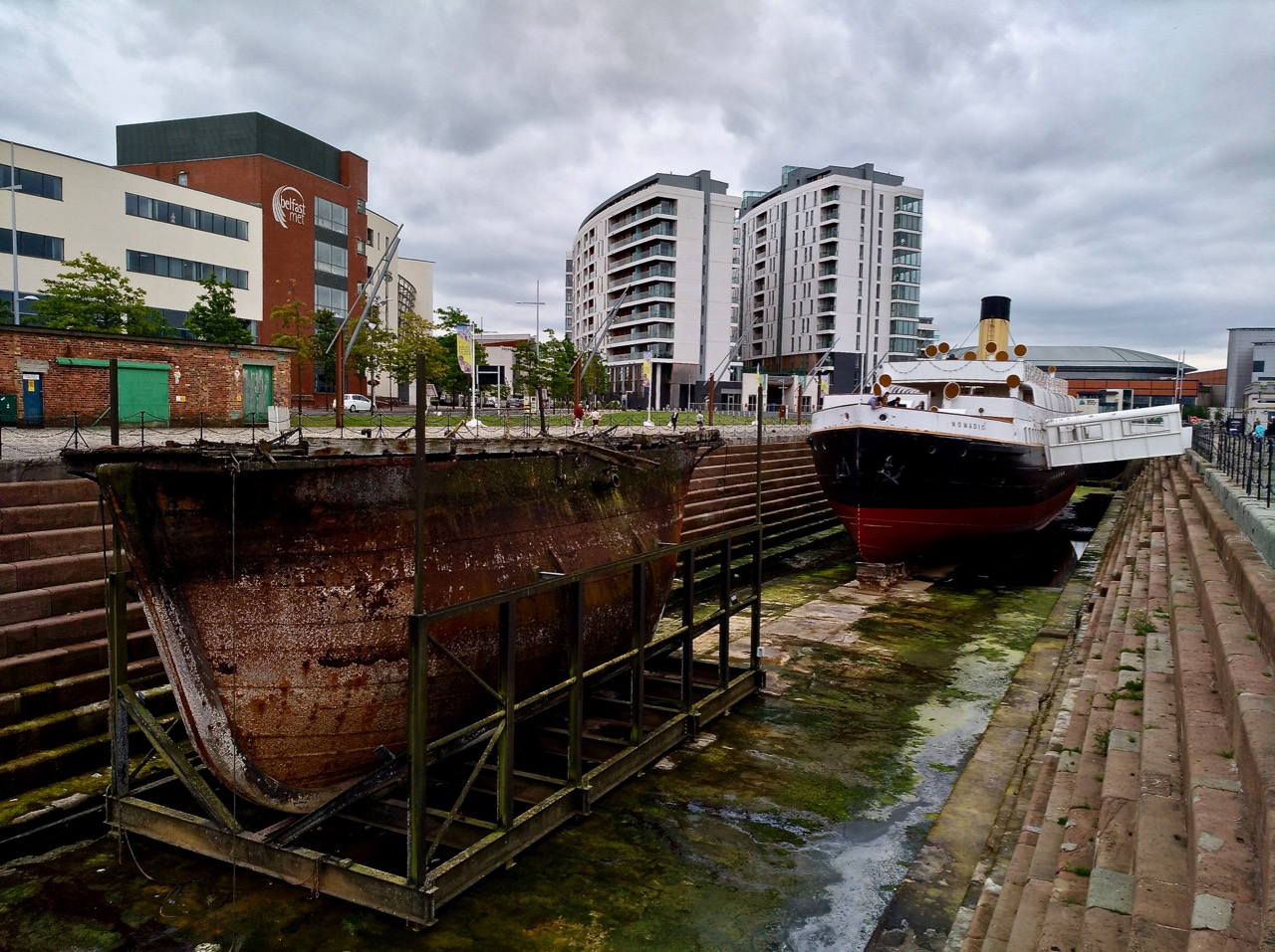 SS Nomadic - Visiting the Titanic Museum in Belfast (1)