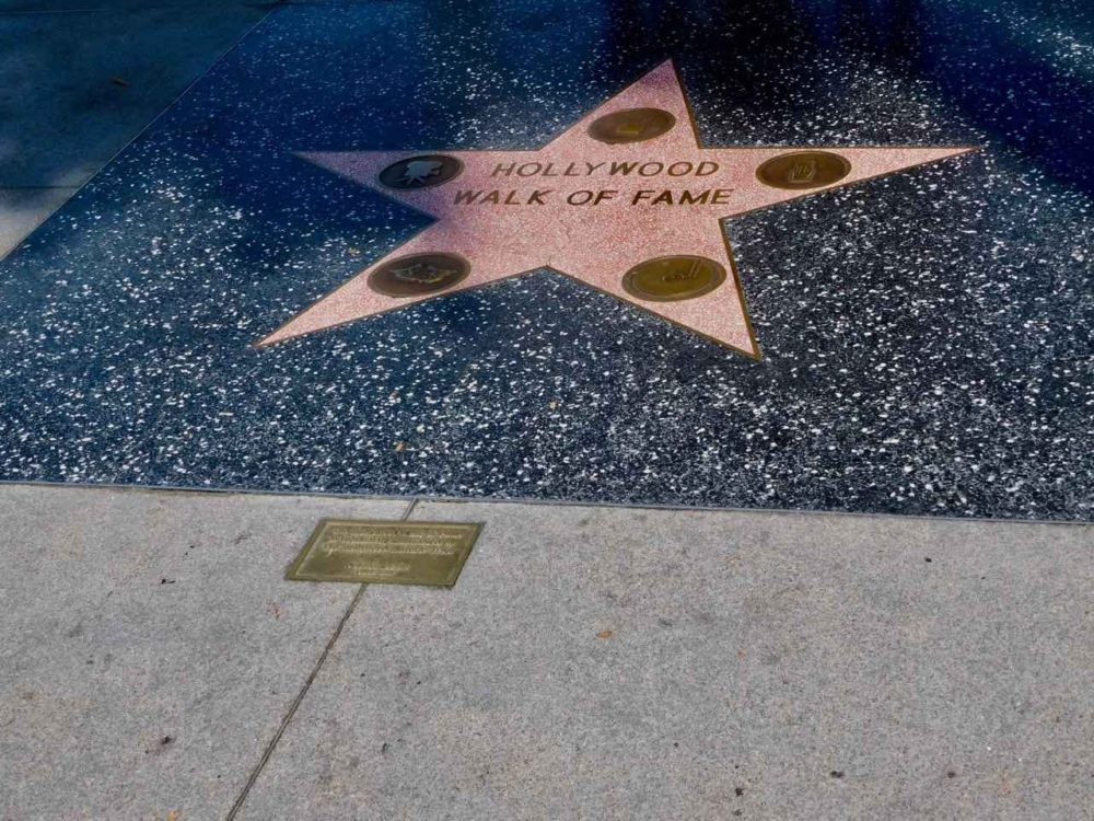 3 jours à Los Angeles - Walk of Fame