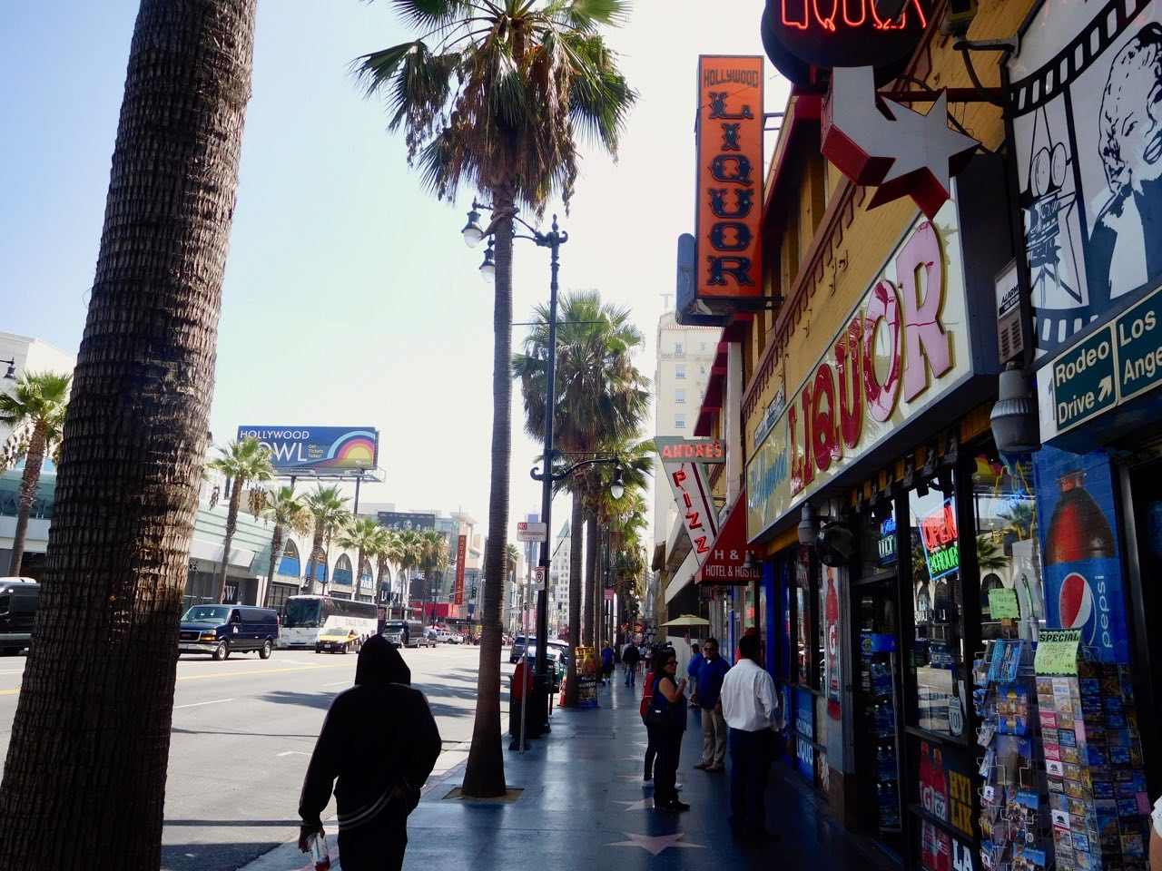 3 Days in Hollywood - Hollywood Boulevard (2)