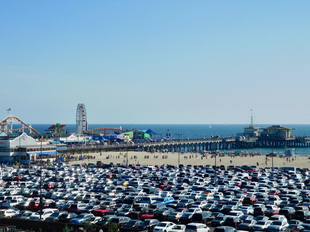 3 Days in L.A. - Santa Monica Beach (1)