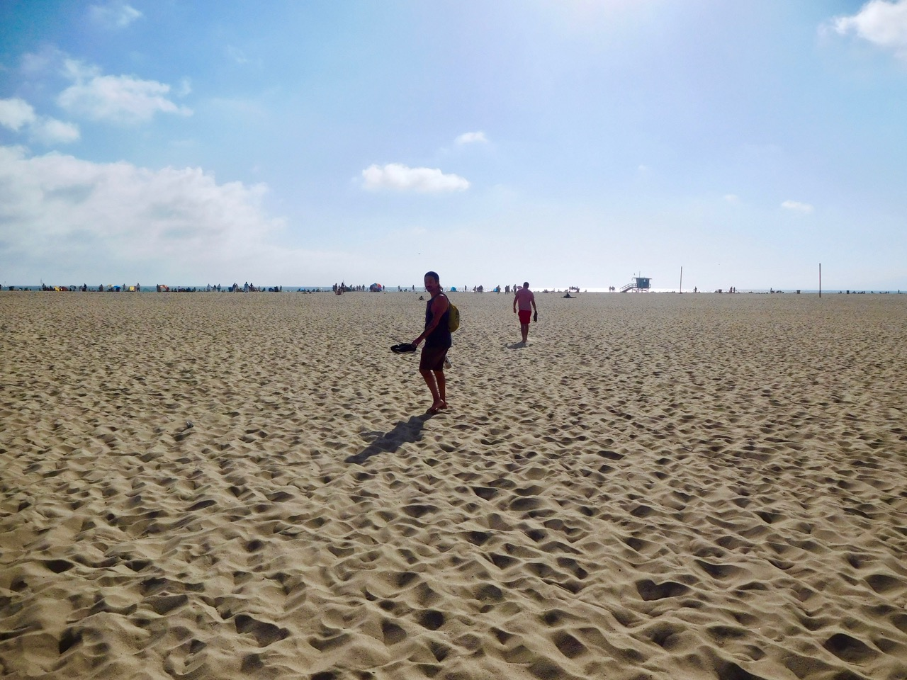 3 Days in L.A. - Santa Monica Beach (3)