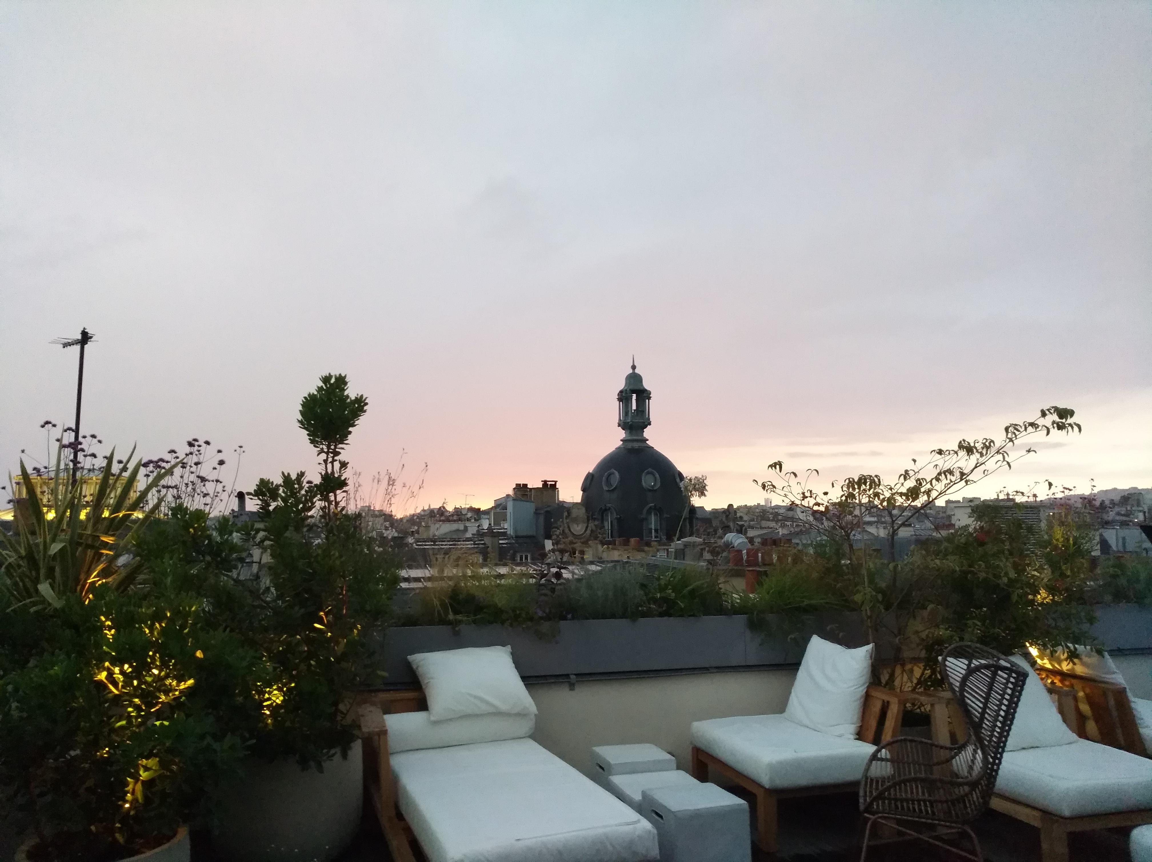 Rooftop Hotel National des Arts et Métiers Paris 2017