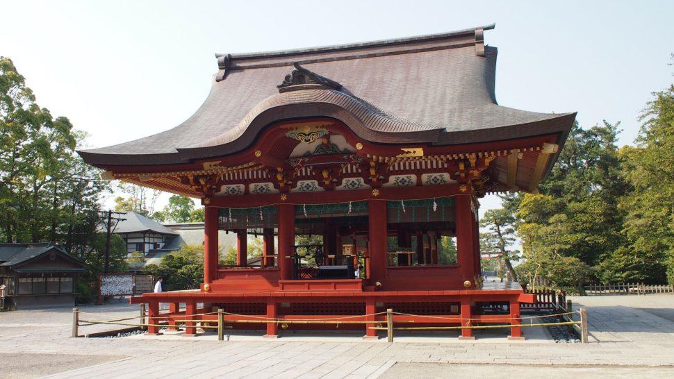 Shrine in Kamakura, a day trip from Tokyo