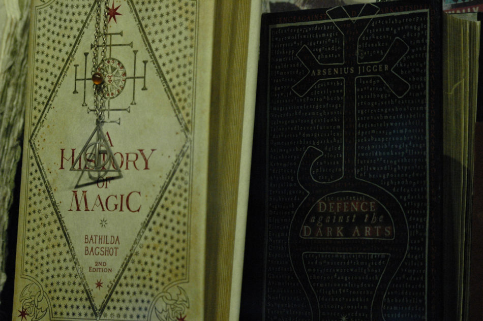 A History of Magic Book at the Harry Potter Warner Bros Studio