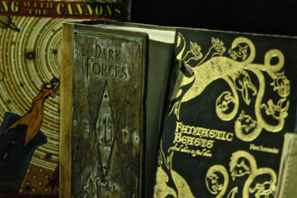 Dark Arts Books at the Harry Potter Warner Bros Studio
