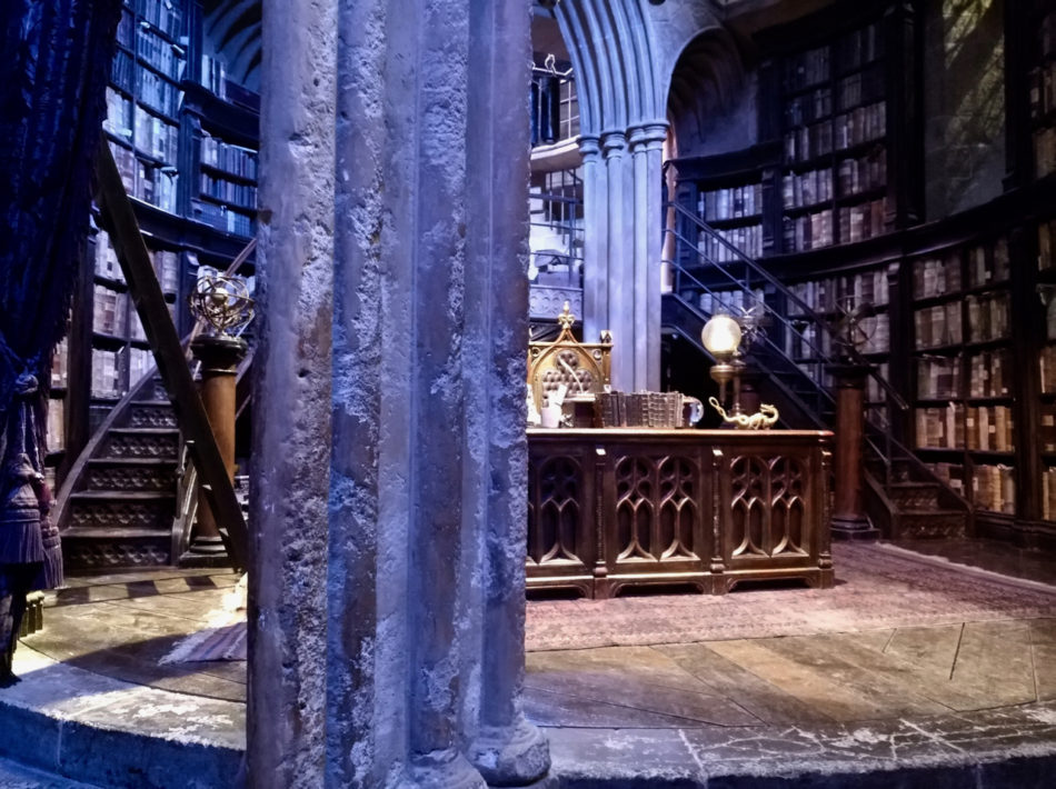 Dumbledore's office at the Harry Potter Warner Bros Studio