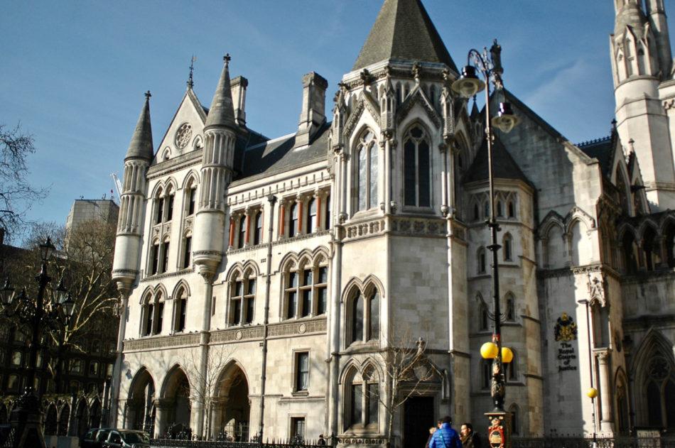 Gothic church in London