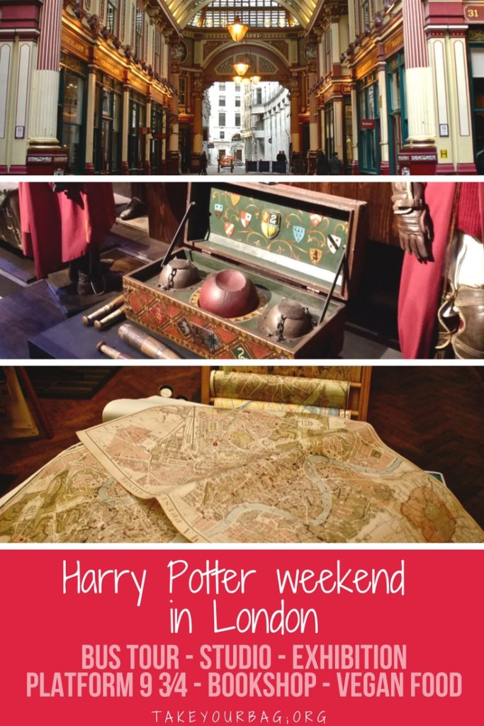 Guide to Harry Potter things to do in London | Harry Potter attractions London | Harry Potter coach trips | Farmacy vegan restaurant | Bookshop | Platform 9 3/4
