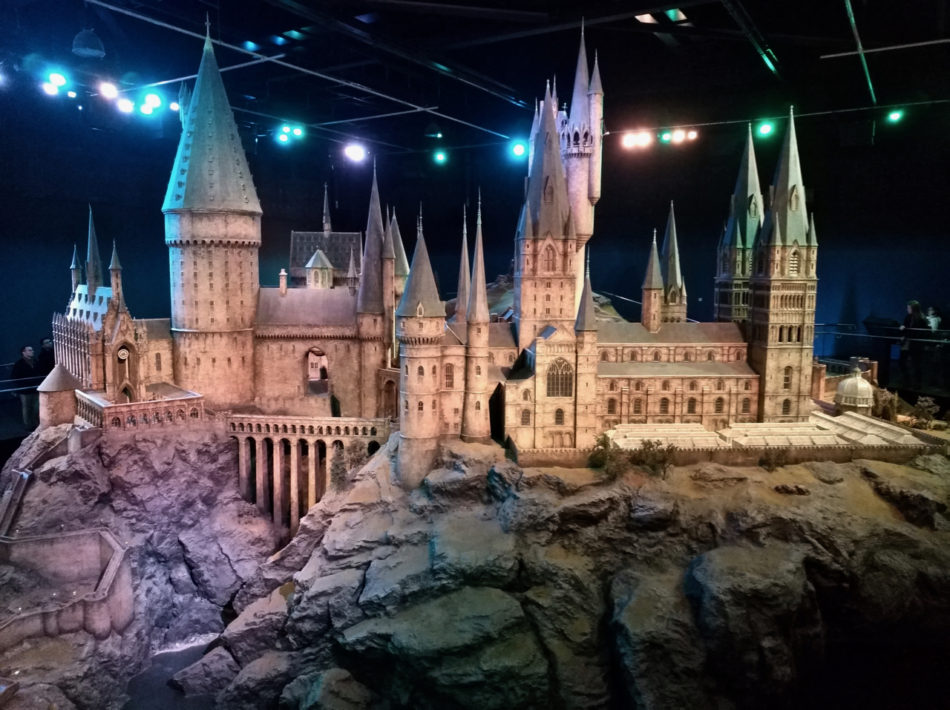 Hogwarts Castle Replica at the Harry Potter Warner Bros Studio