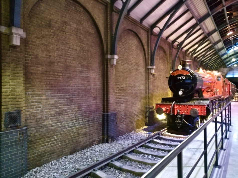 Hogwarts Express at the Harry Potter Warner Bros Studio