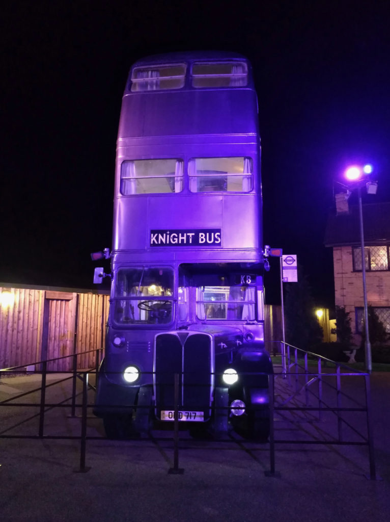 Knightbus at the Harry Potter Warner Bros Studio