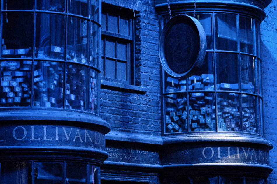 Ollivander Shop at the Harry Potter Warner Bros Studio