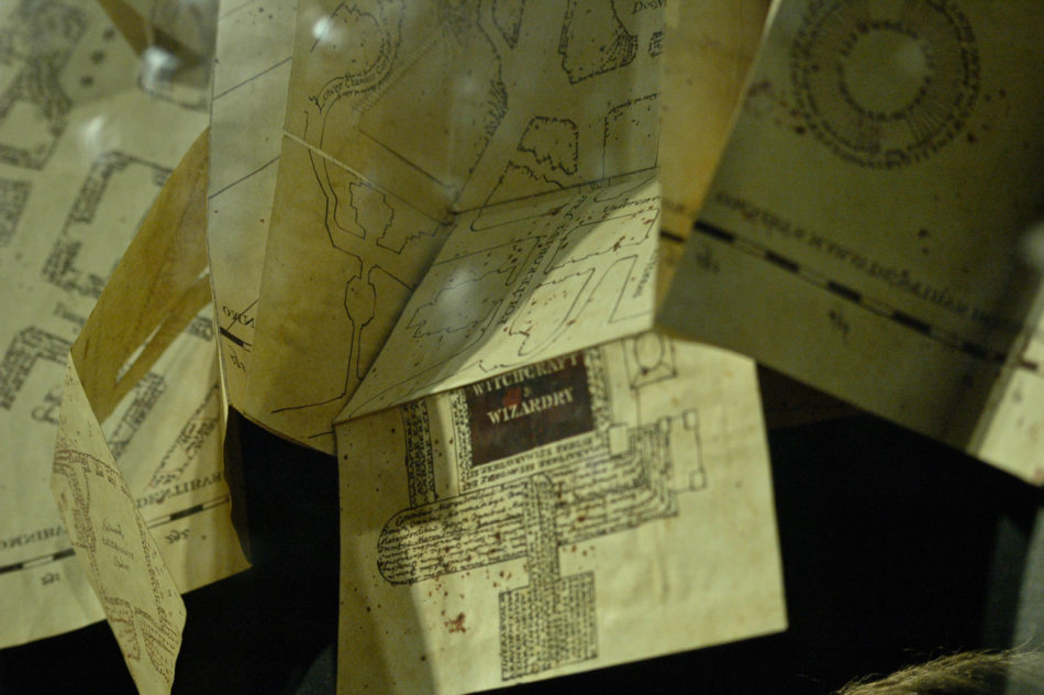Plans of Hogwarts at the Harry Potter Warner Bros Studio