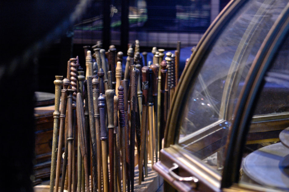 Wands at the Harry Potter Warner Bros Studio