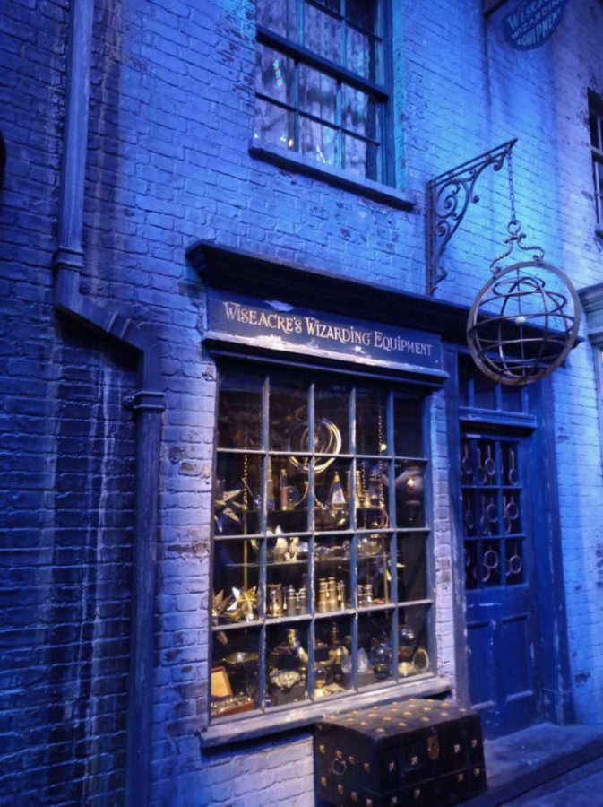 Wizarding Equipment at the Harry Potter Warner Bros Studio