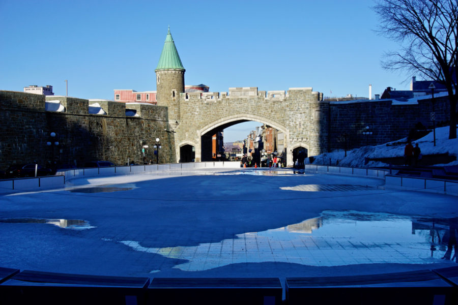 Porte Saint-Jean in Québec city