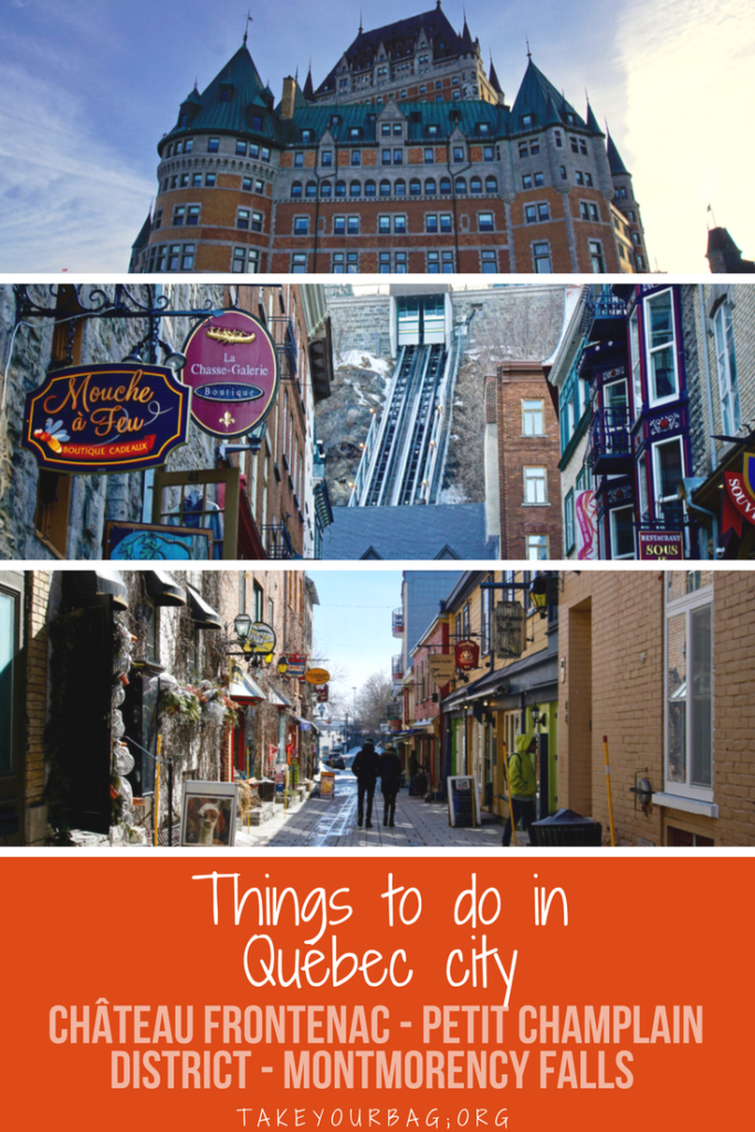 Fun things to do in Québec city | Old Québec in March | Château Frontenac | Vegan Guide to Québec city | #travel #quebec #vegan
